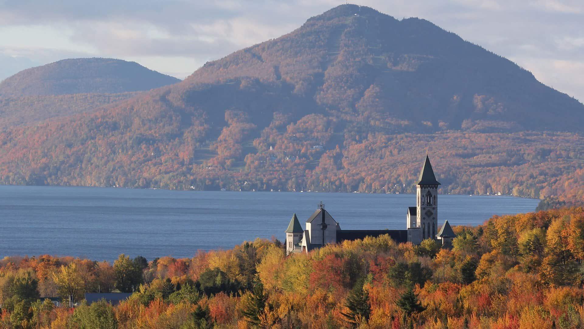 abbaye saint benoit du lac