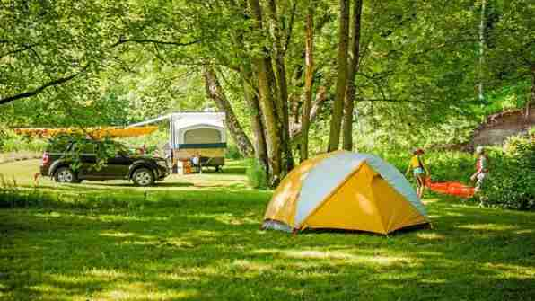 Camping Nature Plein Air
