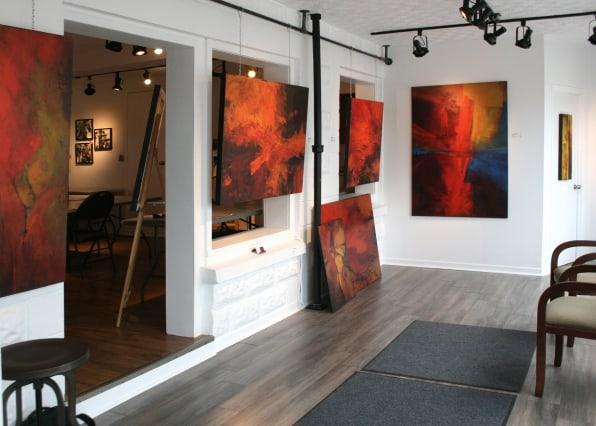 Atelier-galerie Céline Girard école de peinture