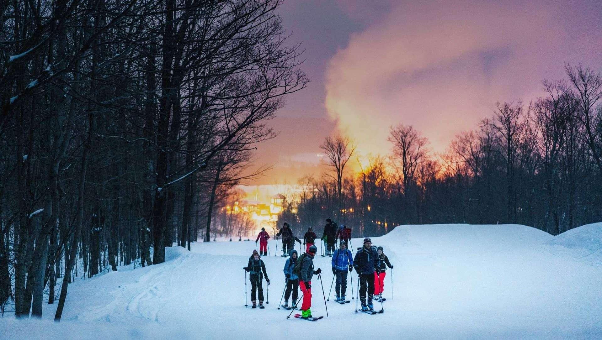 Randonnée alpine : sortie nocturne et initiation