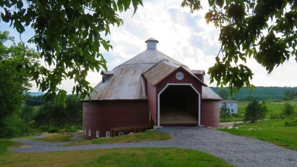 The Mansonville Round Barn