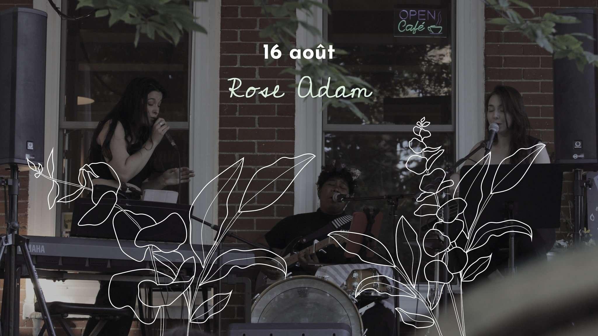 Les artistes su'l Balcon – Rose Adam
