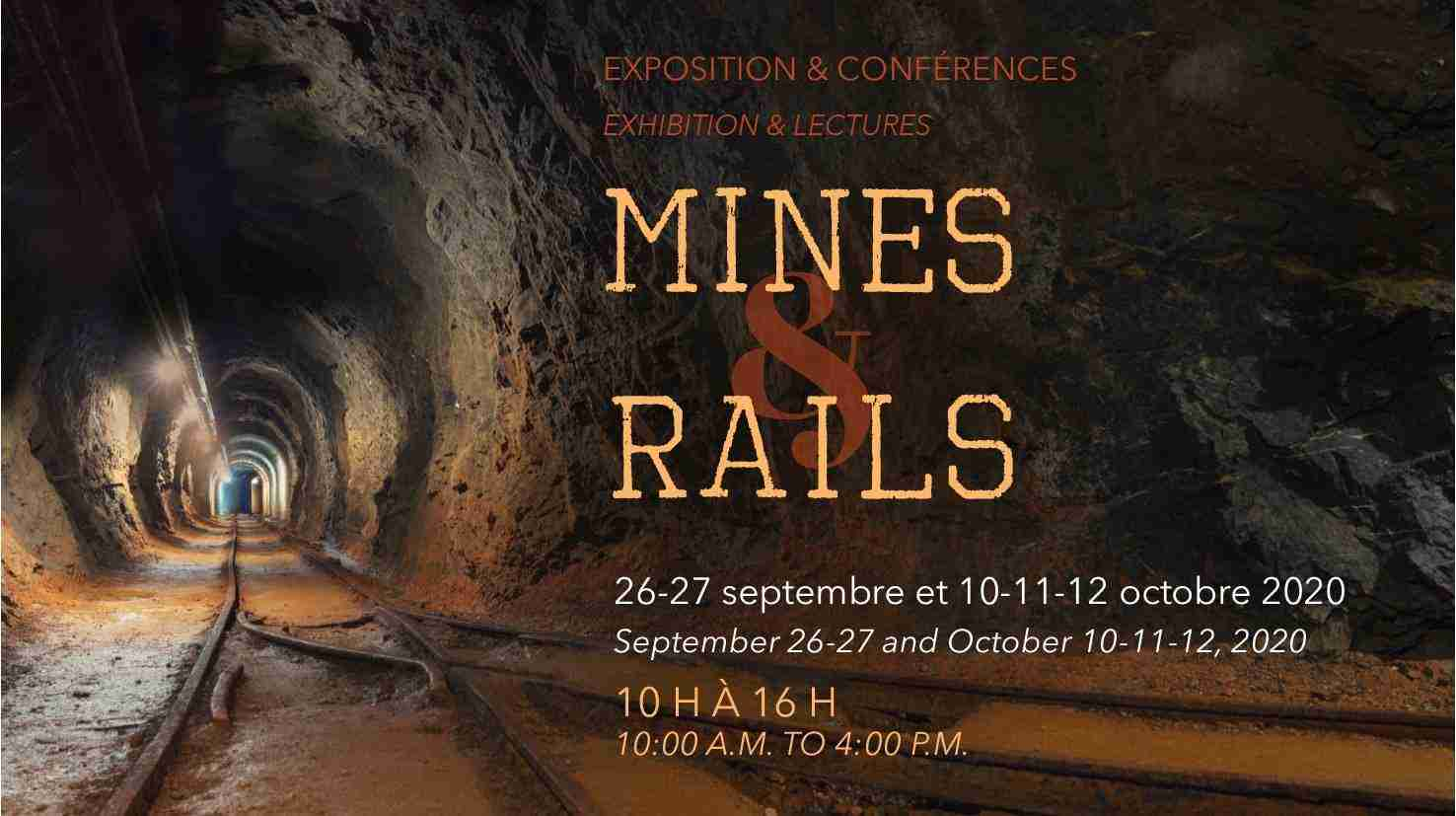 Exposition « Mines & Rails » – Centre Saint-Patrick